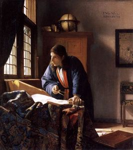Vermeer's The Geographer