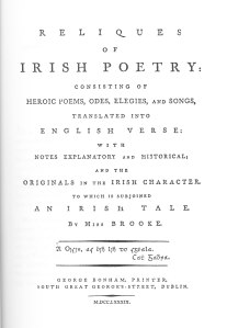 title page of Brooke book