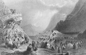 Irish pattern in Connemara 1842