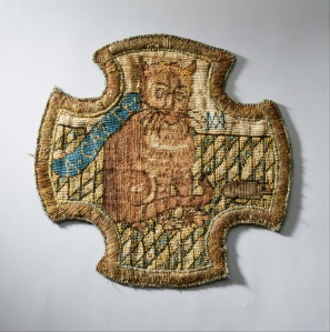 Cat embroidered by Mary Queen of Scots