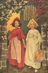 Snow White and Rose Red by Jessie Willcox Smith, 1911