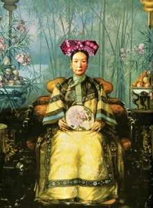 Painting of the Dowager Empress Cixi