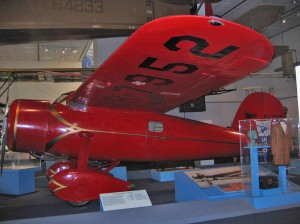Amelia Earhart's airplane
