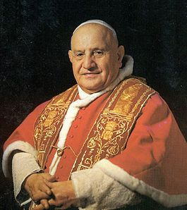 portrait of Pope John 23