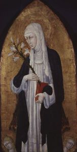 painting of St. Catherine of Siena