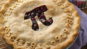 Pie to celebrate Pi Day