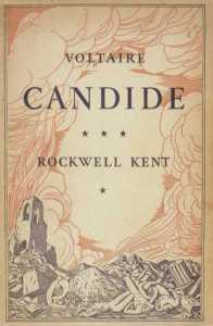 Candide (cover art by Rockwell Kent)