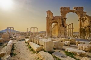 Palmyra, ancient Syrian ruins