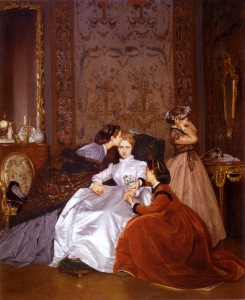 The Reluctant Bride by August Toulmouche