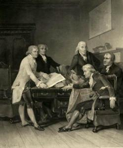 Signing the Declaration of Independence