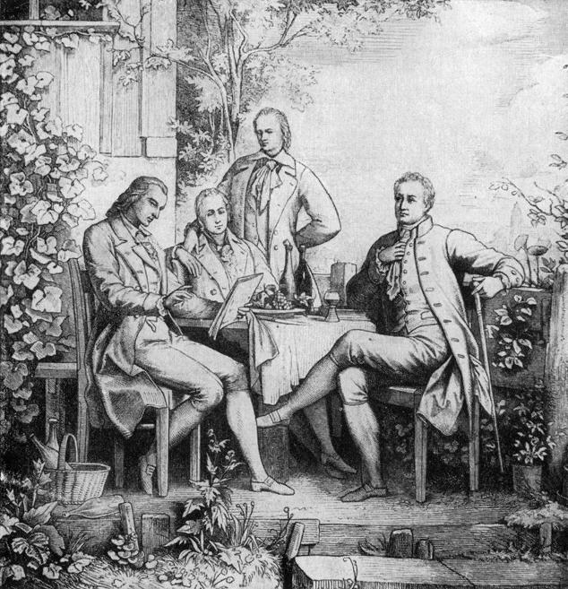 Humboldt and Goethe
