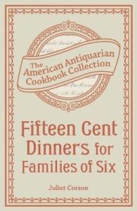 Juliet_15 cent dinners