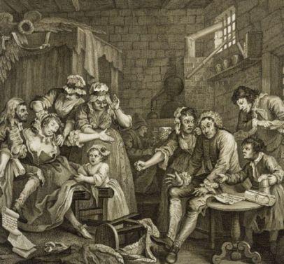 NEWGATE PRISON 1735