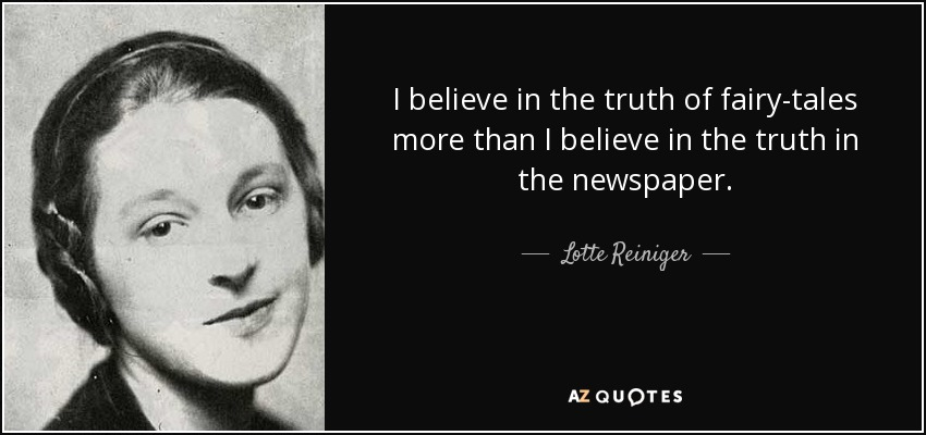 Lotte Reiniger quote