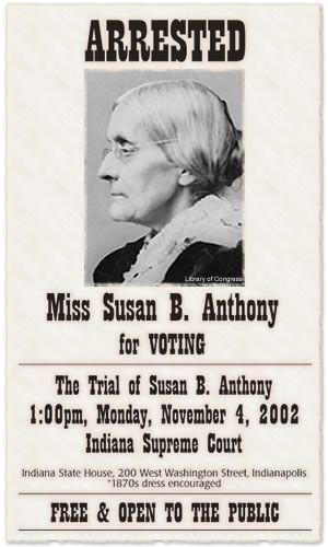 Susan Anthony voting
